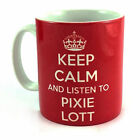 NEW KEEP CALM AND LISTEN TO PIXIE LOTT GIFT CUP MUG PRESENT MUSIC FAN
