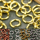 6mm Plated Brass Jump Rings Finding Open 19gauge m20 PICK