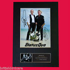 STATUS QUO Signed Autograph Mounted Photo Repro A4 Print 456
