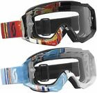 Scott USA Hustle MX Pixel Goggle with Clear Lens 2013