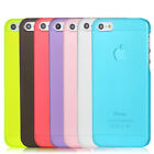5x/10x/20x Slim Clear Matte Back Hard Case Cover Skin for iPhone 5 5S
