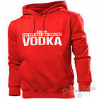 On The 8th Day God Created Vodka Hoodie Men Women Alcoholic Drink Vodka Mixer