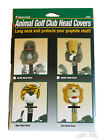 Wild Life Animal Plush Long Neck Over-Sized Golf Club Driver Headcover NEW