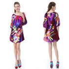 Ever Pretty Elegant Womens Printed Short Maternity Casual Dress 03769 Size 06-18