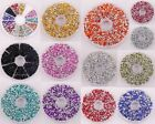 Lots 750 Pcs Bicone Diamond Shape Rhinestones Tips Beads 3mm Jewelry Making