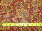 ELEMENTARY BY STUDIO E - RED PAISLEY DESIGN COTTON FABRIC