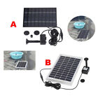 Solar-powered Brushless Pump For Water Cycle/Pond Fountain/Rockery Fountain