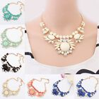 New Design Fashion Vintage Short Sweet Wild Choker Chunky Statement Bib Necklace