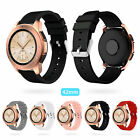 Silicone Bracelet Strap Replacement Watch Band For Samsung Galaxy Watch 42mm