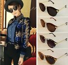 Vintage Womens Unisex Sunglasses Retro Arrow Style Metal Frame Round 4 Colors