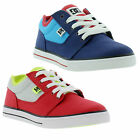 New DC Bristol Kids Skate Shoes Boys Trainers Junior Size UK 3-6
