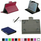 "Colorful Folio Claw Grip Case+Pen For 10.1"" Proscan PLT1044 Android Tablet PC"