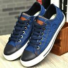 Hot Mens Casual Athletic  Breathable Sneakers Canvas High Ankle Boots Lace Shoes