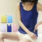 Sexy Women Chiffon Tank Top Sleeveless Shirt Blouse Vest Top Candy Color size L