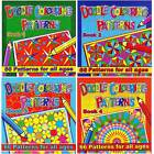 ADULT & CHILDRENS LARGE BUMPER DOODLE COLOURING BOOKS 66 PAGES ART PATTERNS 3075