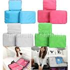 3Pcs Suitcase Clothes Storage Bags Packing Cube Travel Luggage Organizer Case