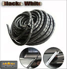 Cable Wire Tidy Wrap PC Home Cinema TV Management Organising Kit 12mm - 10m