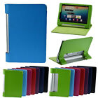 """PU Leather Folio Foldable Case Cover for Lenovo YOGA Tablet B6000 8"""" 8 inch NEW"""