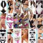 New Sexy Ladies Beach Bikini Padded Swimsuit Swimwear Monokini UK Size S M L