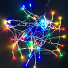 Color 5M/50 10M/80 LED AA Battery String Fairy Lights Xmas Wedding Party Decor
