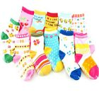 Cute Baby Kids Girls Toddlers Anti-Slip Socks 12 Designs 0 - 3 Years Wholesales
