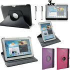For Samsung Galaxy Tab 2 10.1 P5100 P5110 360° Rotating PU Leather Case Cover+GT