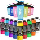 1 x Cyclone Cup Shaker Mixer + 1 x ProElite Protein Blender Bottle V2