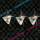 Genuine Swarovski 2716 Rivoli Triangle 5mm iron on hot fix Rhinestones flicker
