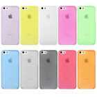 0.3mm Ultra Thin Slim Clear Matte Soft Back Case Cover Skin for iPhone 5 5S 5C