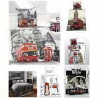 LONDON BEDDING + BEDROOM ACCESSORIES LANDMARKS 100% COTTON DUVET COVERS + MORE
