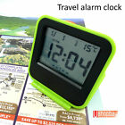 Digital Snooze Alarm LCD Travel Clock Calendar Thermometer R10