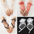 Vogue Sexy Lace Wrist Fingerless Wedding Evening Party Bridal Short Gloves Gift