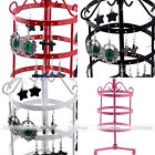 Vintage Necklace Earrings Organizer Holder Turnable Jewelry Display Stand Holder