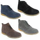 Mens NorthWest Real Suede Desert Boots Sizes 7 8 9 10 11 12 - 4 Colours