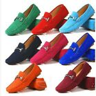 5 Colors US Size 5-11 New Suede Leather Womens Driving Moccasin Loafer Car Shoes