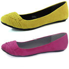 Women Slip-On Ballerina Flats Comfortable Padded Insole Casual Loafers Fashion