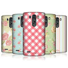 HEAD CASE FRENCH COUNTRY PATTERNS SNAP-ON BACK COVER FOR LG G3 D855