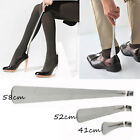 Durable Long Handle Shoehorn Shoe Horn Aid Stick Remover Stainless Steel Silver