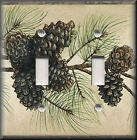 Switch Plates And Outlet Covers - Pine Cone Branches - Cabin Home Decor Rustic