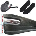 1Pair Womens Mens Shoe Lift Height 3 layers Increase Heel Lifts Insoles Taller