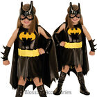 CK171 Batgirl Batman Bat Girl Superhero Hero Toddler Girl Child Dress Costume