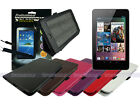 Leather Case+Screen Cleaner Pad+Stylus for Asus Google Nexus 7 1st Gen