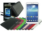 Leather Case+Screen Cleaner Pad+Stylus for Samsung Galaxy Tab 3 8.0