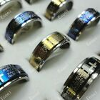 Wholesale 16-48PCS lots top fashion stainless steel rings jewelry free shipping