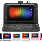 "iRulu 7"" Android 4.2 Dual Core Cam 16GB 1.5GHz Multi-Color Tablet w/New Keyboard"