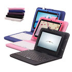 "iRULU 7"" Android 4.4 Quad Core 8GB Multi-Color Tablet Gift Keyboard"