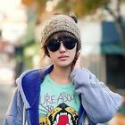 Cool Fashionary Women Winter Warm Wool Cap Snow Knitted Beanie Hat Hot Colors CB