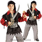 CK234 Child Sea Captain Pirate Boys Kids Book Week Fancy Dress Up Party Costume