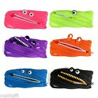 Zipit Monster Animal Pen Pouch Pencil Case Stationery Pocket Holder Bag Cute