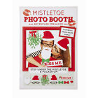 Festive XMAS Mistletoe Props Kit Picture Frame Novelty  Party Game Photo Booth